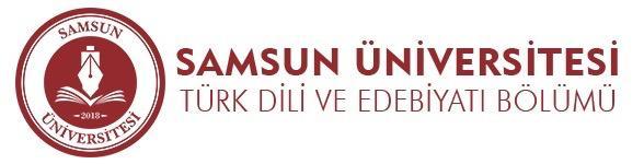 Samsun Türk Dili ve Edebiyatı